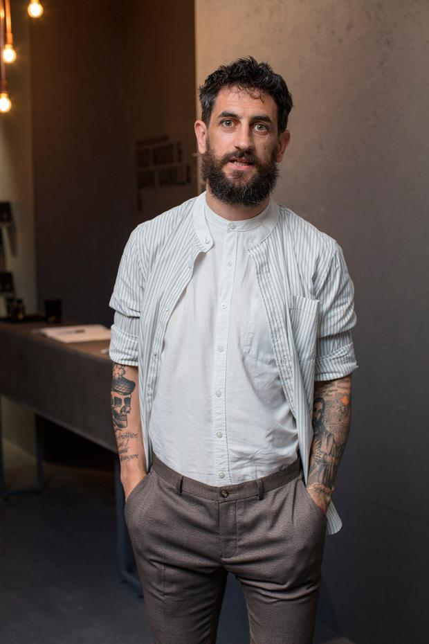 Paul Galvin at the launch of Lynx's first ever pop-up shop in Ireland, the Find Your Magic Shop. Picture: Anthony Woods
