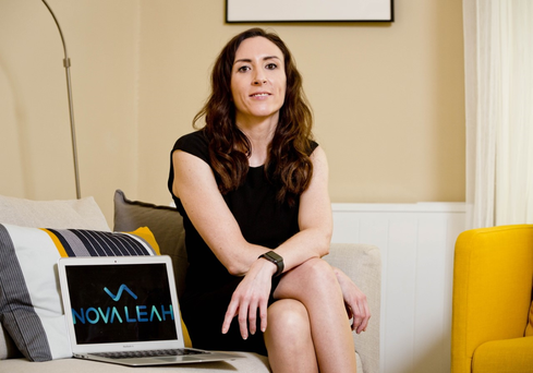 Anita Finnegan, co-founder and CEO of medical device cybersecurity company, Nova Leah