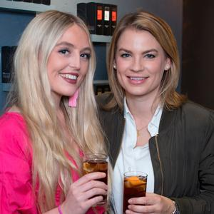 Anne Nuding & Amber Wilson at the launch of Lynx's first ever pop-up shop in Ireland, the Find Your Magic Shop. Picture: Anthony Woods