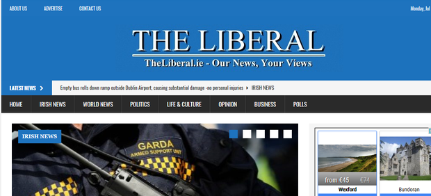 TheLiberal.ie website
