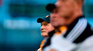 Kilkenny manager Brian Cody looks on during the GAA Hurling All-Ireland Senior Championship Round 2 match between Waterford and Kilkenny at Semple Stadium in Thurles, Co Tipperary. Photo by Brendan Moran/Sportsfile