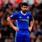 Chelsea remain in negotiations with Atletico over Costa, but the clubs are some distance apart in their valuations. Photo credit: Mike Egerton/PA Wire.