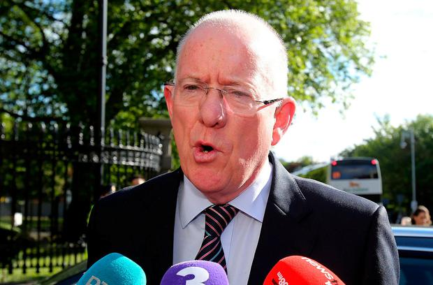 Received briefing note: Justice Minister Charlie Flanagan. Photo: Tom Burke