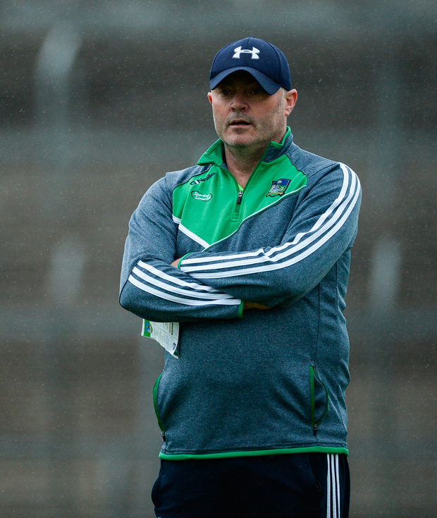 Limerick hurling minor coach Anthony Daly. Photo by Diarmuid Greene/Sportsfile