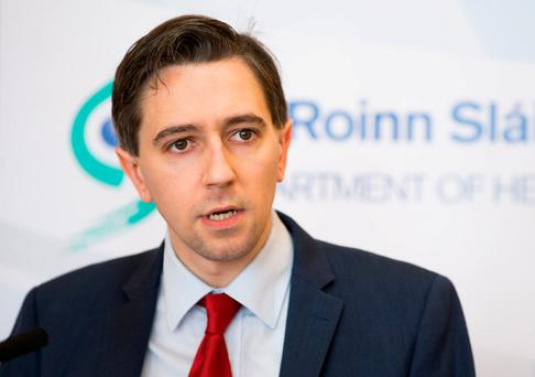 Outsourcing patients: Health Minister Simon Harris. Photo: Julien Behal