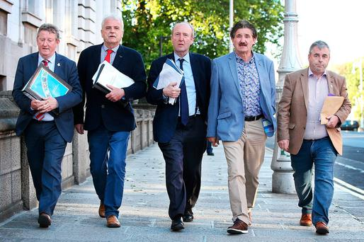 Shane Ross wants a free vote for members of the Independent Alliance. Photo: Steve Humphreys