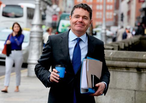 Findings: Paschal Donohoe. Photo: Tom Burke