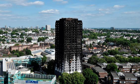 Grenfell Tower block. REUTERS