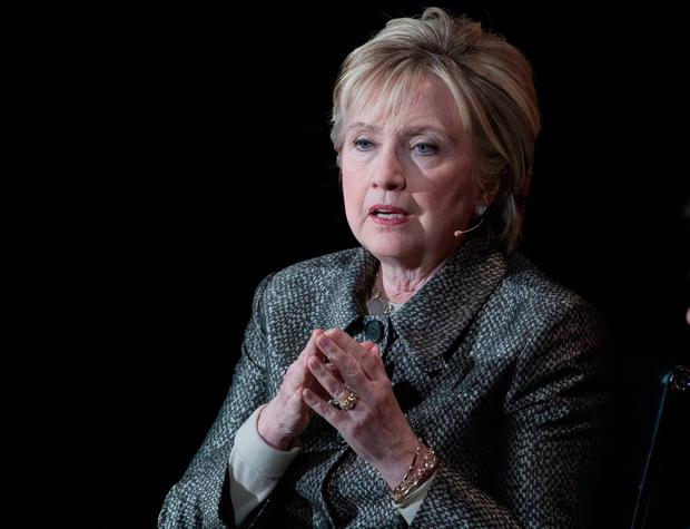 Election rival: Democratic candidate Hillary Clinton. Photo: AP