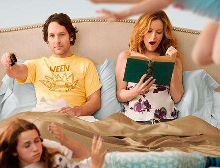Undercover report: Paul Rudd and Leslie Mann are stifled by middle-aged angst in Judd Apatow's 2012 comedy, 'This Is 40'. If you want to stay energised, you need to sleep well