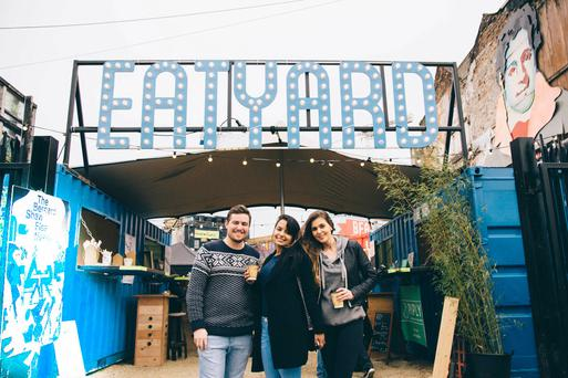 A major draw of Beatyard is its food and drink element, aka Eatyard, with talks and demos from top chefs, brewers and roasters