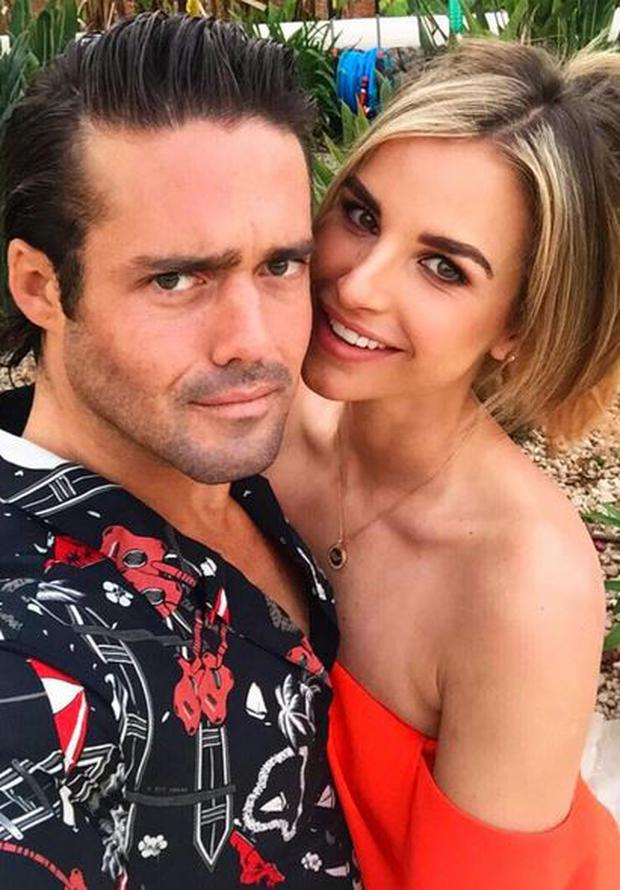 Spencer Matthews and Vogue Williams. PIC: Vogue Williams Instagram