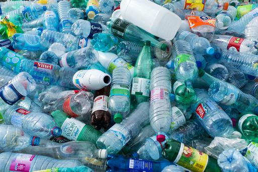 The scheme, which would give consumers a 10-cent refund for each plastic bottle returned to a recycling point, could cost €276m. Photo: AFP/Getty Images