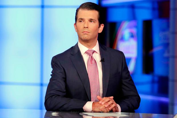 Donald Trump Jr. Photo: AP