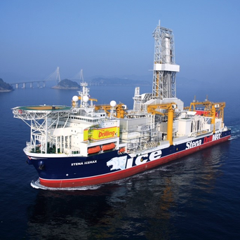 "The Stena ""IceMAX"" deep-water drillship"
