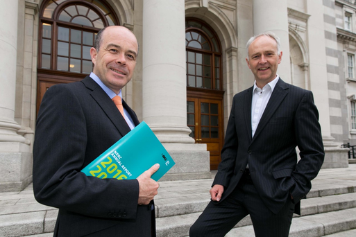 Minister for Communications, Climate Action and Environment, Denis Naughten T.D. and Ben Hurley, CEO of NDRC.