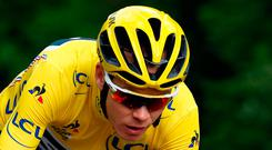 Chris Froome re-signed with Team Sky in January of 2016 for £4 million annually