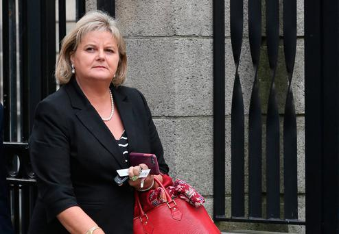 Angela Kerins pictured leaving the Four Courts. Photo: Collins Courts