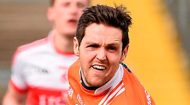 Armagh captain Rory Grugan. Picture credit: Oliver McVeigh / Sportsfile