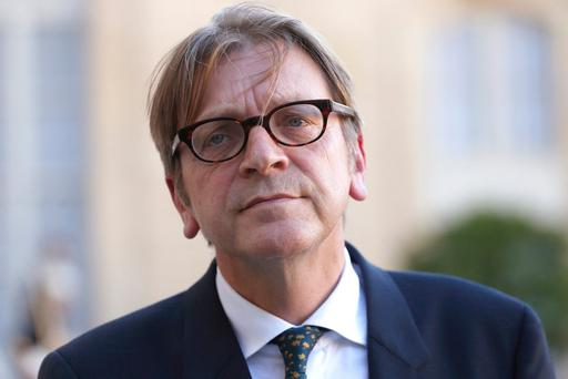 Guy Verhofstadt. Photo: AFP/Getty Images