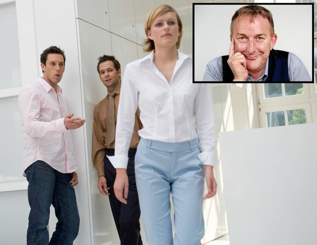 Adrian Kennedy (inset) asks: Is wolf-whistling really sexual harassment or is it just another Snowflake Generation complaint?