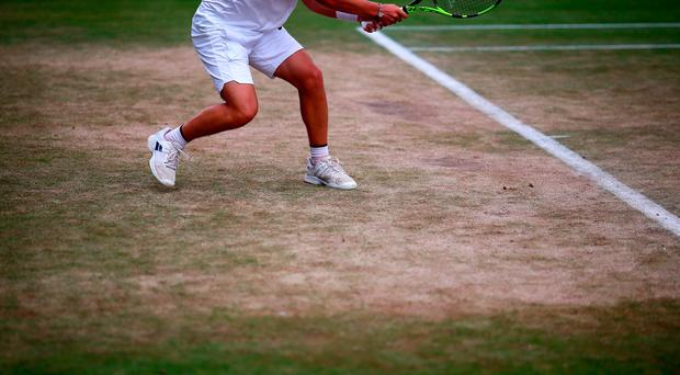 Only white clothing is allowed at Wimbledon