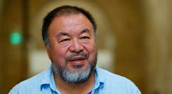 Chinese artist and free-speech advocate Ai Weiwei speaks about late Nobel Peace Laureate Liu Xiaobo in his atelier in Berlin, Germany July 13, 2017. REUTERS/Fabrizio Bensch