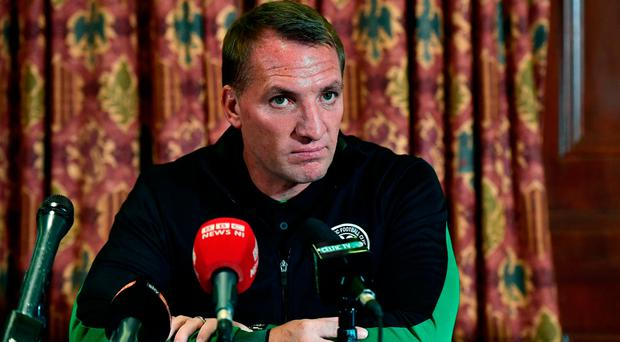 Celtic supporters' absence a shame for Linfield and the new Northern Ireland - Brendan Rodgers