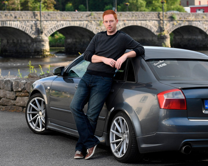 Kian Griffin, from Co Kerry, has been campaigning to have car premiums lowered. Photo: Domnick Walsh