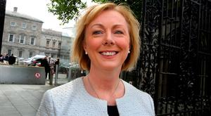 Briefed: Regina Doherty. Photo: Tom Burke