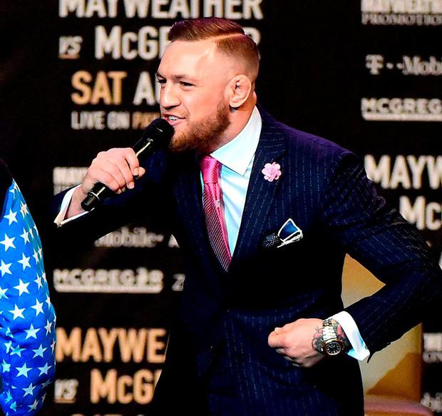 Conor McGregor. Photo by Harry How/Getty Images
