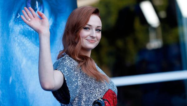Cast member Sophie Turner poses at a premiere for season 7 of the television series 'Game of Thrones' in Los Angeles, California. Photo: REUTERS/Mario Anzuoni