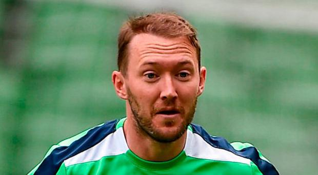Aiden McGeady has agreed a deal to leave Everton and join Sunderland. Photo by David Maher/Sportsfile