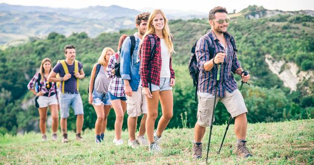 More than two million visitors to Ireland out of a total of nine million last year took part in crosscountry walking, helping to boost rural economies away from tourist hubs. Stock photo