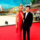 Barry Keoghan (right) attending the Dunkirk world premiere at the Odeon Leicester Square, London. PRESS ASSOCIATION Photo. Picture date: Thursday July 13, 2017. See PA story SHOWBIZ Dunkirk. Photo credit should read: Ian West/PA Wire