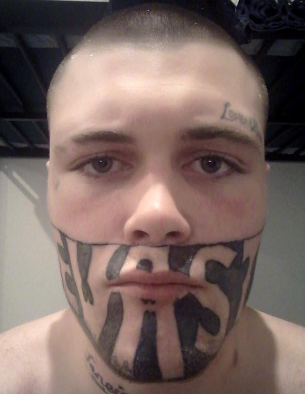 Ex-inmate with facial tattoo accepts offer of free removal