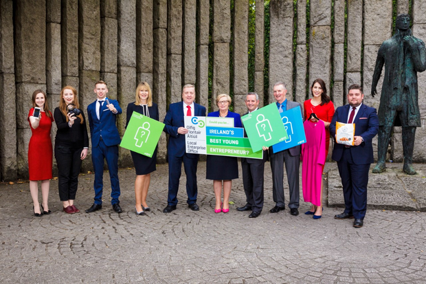 The launch to find Ireland's Best Young Entrepreneurs of 2018