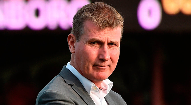 Stephen Kenny's side go to Trondheim with the tie poised at 1-1 and yesterday's draw pitted the winners of that tie with Linfield or Celtic. Photo by David Maher/Sportsfile