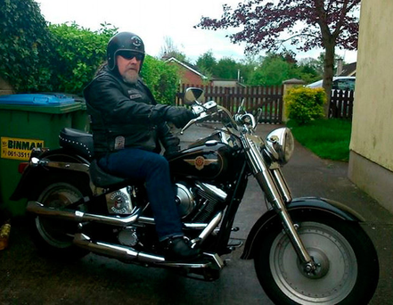 Biker Andrew O'Donoghue, who was shot in Limerick in 2015