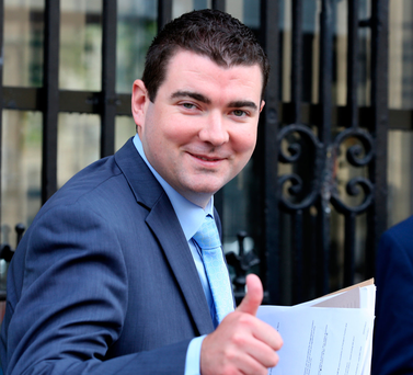 Junior Sports Minister Brendan Griffin. Photo: Tom Burke