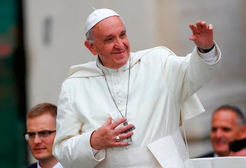 Pope Francis Photo: REUTERS/Tony Gentile