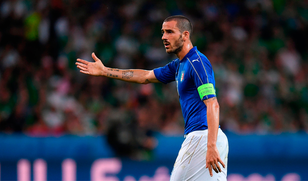 Leonardo Bonucci is moving to AC Milan. Pic: Sportsfile.
