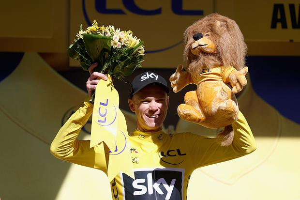 Chris Froome regains Tour de France yellow jersey after tough 14th ... 5a2cc47fa