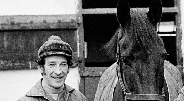 Jockey Tommy Carberry Carberry, who died on Wednesday at the age of 75. Photo: Connolly Collection/Sportsfile