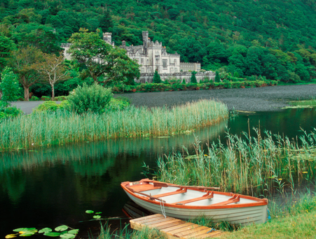 Connemara's Kylemore Abbey will host a delegation from Notre Dame university in the US
