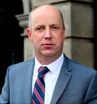 Concern: Junior minister Jim Daly will report before Budget Photo: Tom Burke