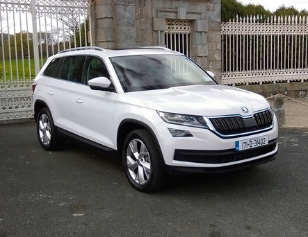 Impressive: The Kodiaq firmly establishes Skoda in the SUV segment, offering space, comfort and practicality