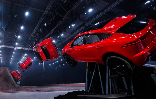 Roll of honour: New Jaguar E-Pace's record-breaking jump