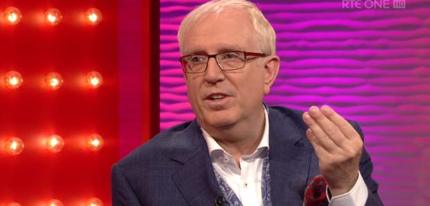 Rory Cowan appeared on Saturday Night with Miriam to speak about his departure from Mrs Brown's Boys