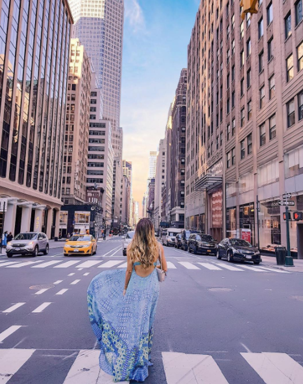 Instagram star denies 'faking' travel pictures after fans claim she doctored images. Image: Amelia Liana/Instagram